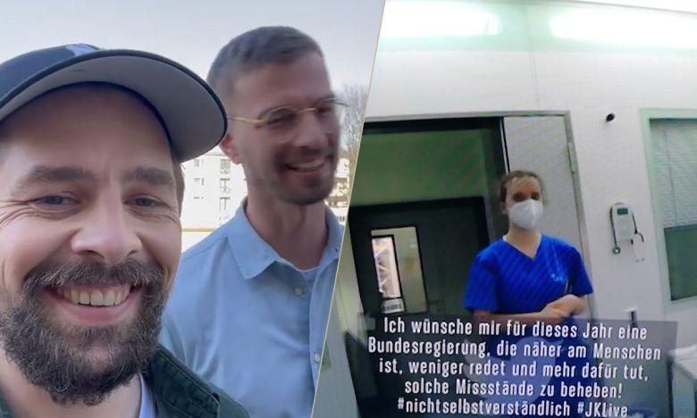Joko Klaas Machen Auf Den Pflegenotstand Aufmerksam Tv Digital